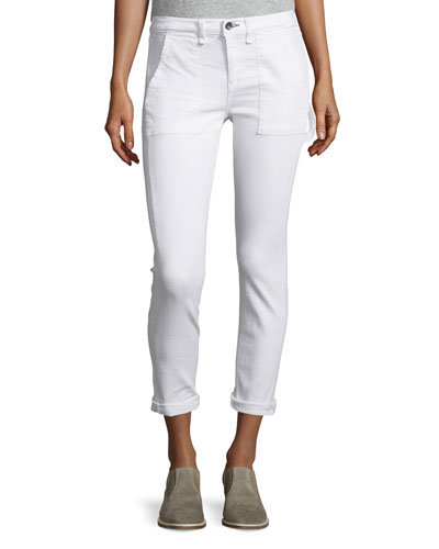 Carpenter Dre Jeans, Aged Bright White