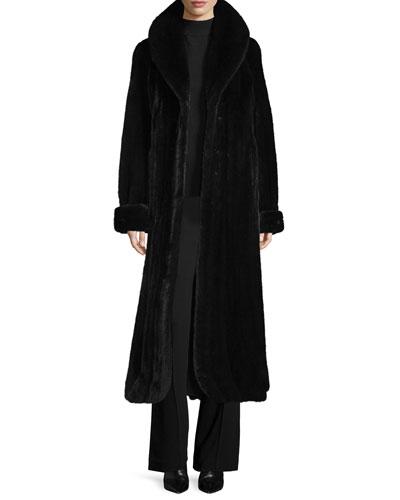 Directional Mink Fur Coat, Ranch