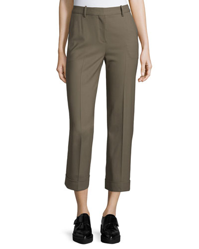 Heze Contour Cropped Pants