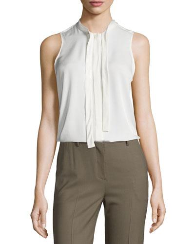 Jazlina Modern Georgette Silk Top