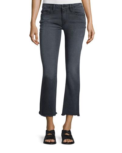 Le Crop Mini Boot-Cut Jeans, Preston