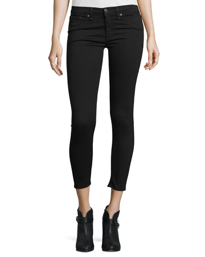 Nero Capri Denim Jeans, Black