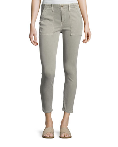 The Skinny Armies Pant, Washed Black