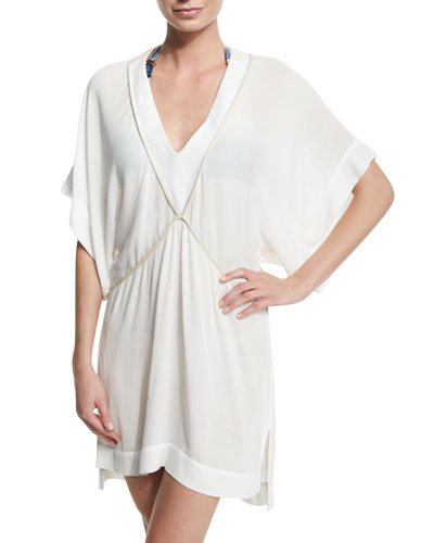 Michele V-Neck Tunic Coverup