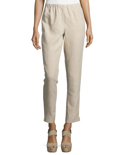 Pull On Linen Pants | Neiman Marcus
