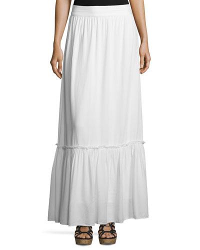 Crosshatch Prairie Maxi Skirt