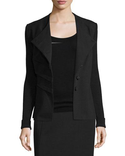 Folded Asymmetric Jacket