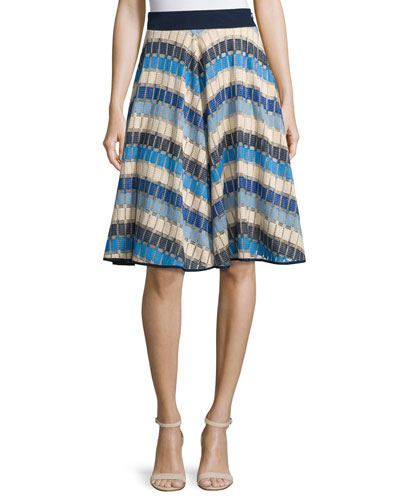 Marina Mitered Circle Skirt