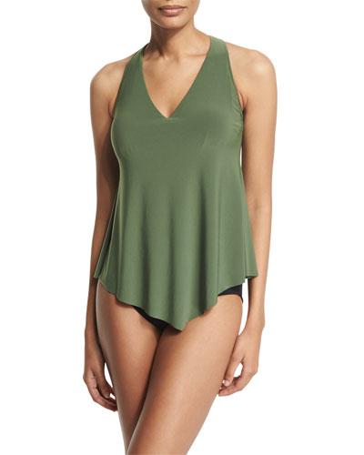 Taylor Tankini Underwire Swim Top, Olive