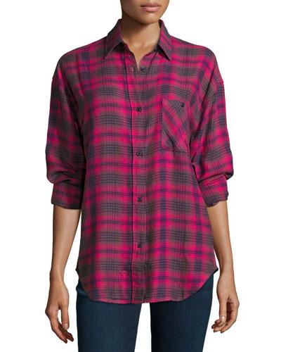 Jackson Plaid Long-Sleeve Shirt