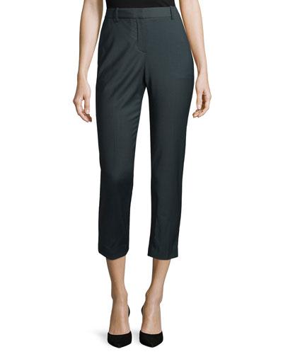 Treeca Cl. Cropped Pants, Slate