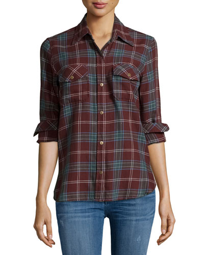 The Perfect Long-Sleeve Shirt, Lincoln Plaid