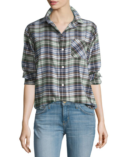 The Prep School Shirt, Boyfriend Plaid