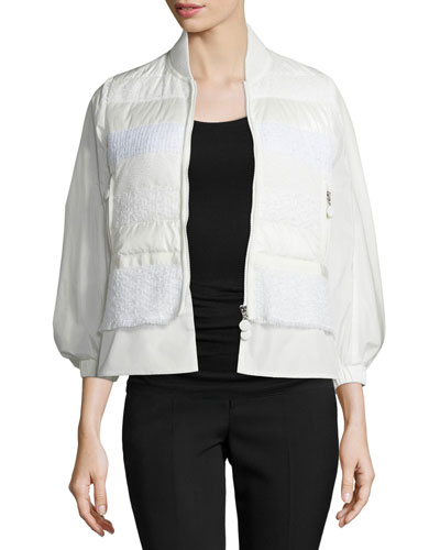 Genets Textured Puffer Jacket