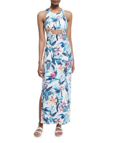 24-Hour Printed Maxi Dress