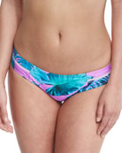 Mermaid Printed Hipster Bikini Bottom