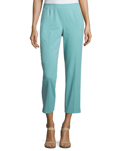 Bleecker Cropped Pants, Ocean