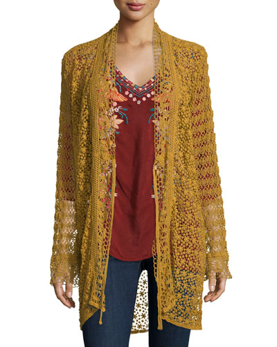 Long Lacey Jacket, Plus Size