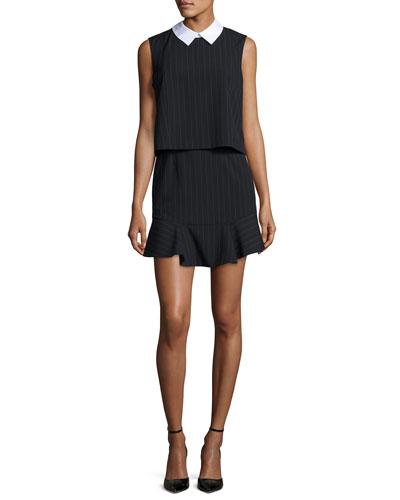 Abygail Sleeveless Popover Dress