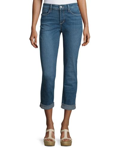 Sylvia Cropped Boyfriend Jeans, Heyburn Wash