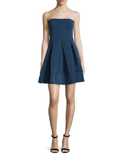 Strapless Quilted Dress, Catalina