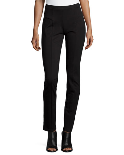 Perfect Ponte Slim Pants, Black Onyx, Plus Size