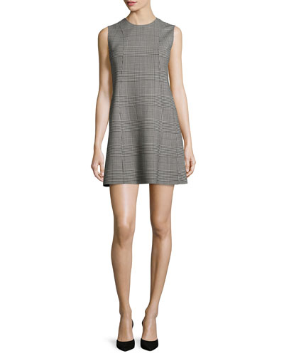 Helaina Portland Plaid Shift Dress