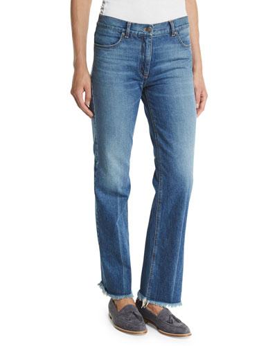 Ossella Carlisle-Wash Denim Jeans, Indigo
