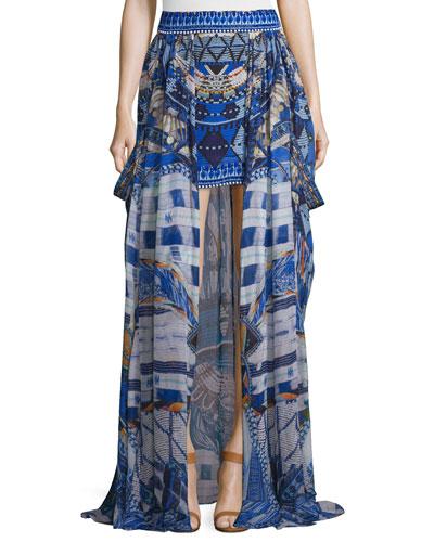 Short Skirt w/Full Overlay, Rhythm & Blues