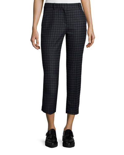 Treeca 2 Brisk Check Cropped Pants