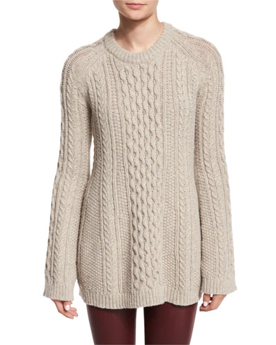 Lewens Loryfelt Cable-Knit Sweater