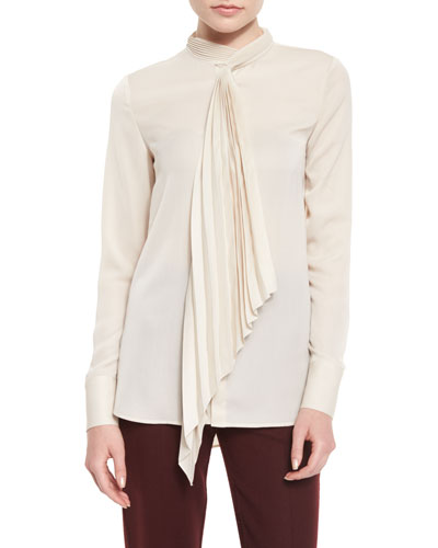 Bellana P Top w/Pleated Tie