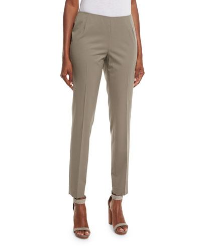 Stanton Cropped Pants, Cobblestone