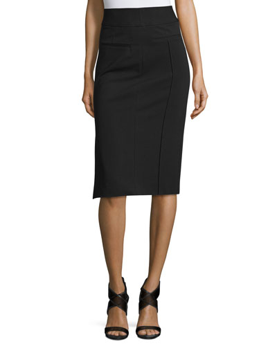 Kayte High-Waist Pencil Skirt