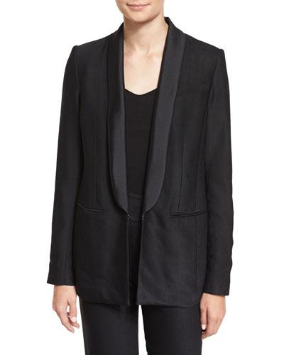 Glastonbury Tuxedo Jacket, Black