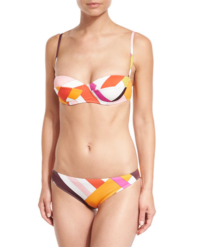 Parioli-Printed Two-Piece Bikini Set
