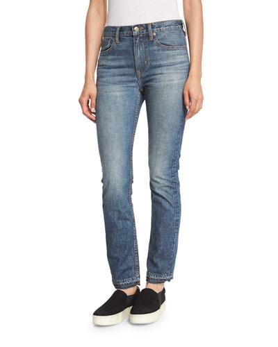 Vintage Straight-Leg Jeans, Talmadge