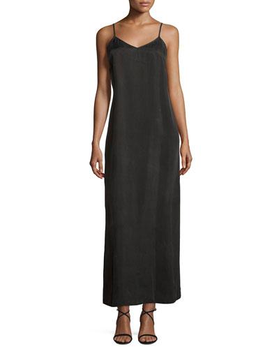 Fitted Slip Dress Neiman Marcus