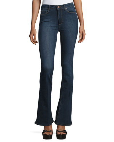 High-Rise Lou Lou Flare-Leg Jeans, Lawson