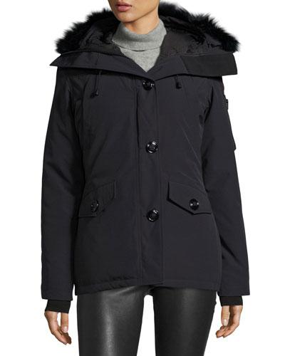 Montebello Parka with Fur Hood