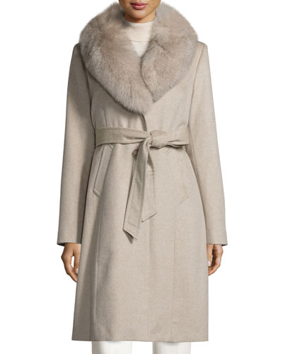 Sofia Cashmere Imported Coat | Neiman Marcus