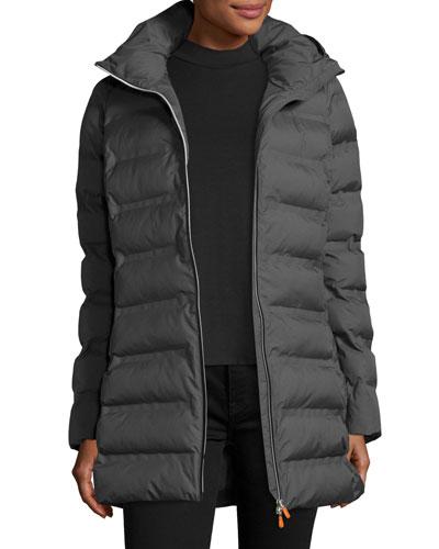 Hooded Lightweight Puffer Jacket