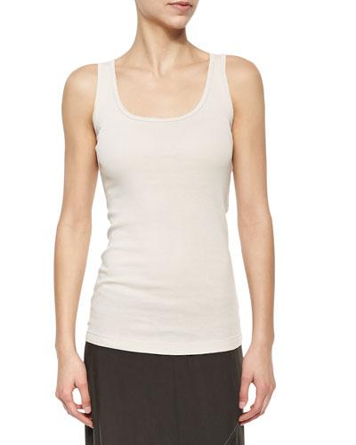 Supima® Cotton Basic Tank Top, Plus Size