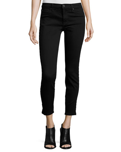 Luna Star Skinny Jeans, Noir