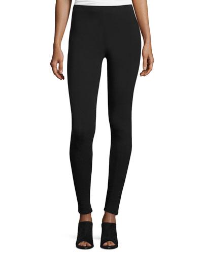 Full-Length Leggings, Black, Petite