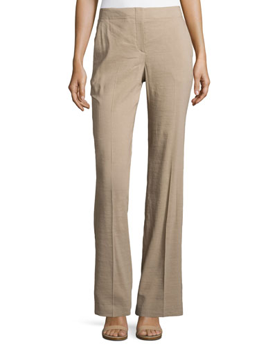 Alldrew Crunch Flare-Leg Pants, Warm Cocoon