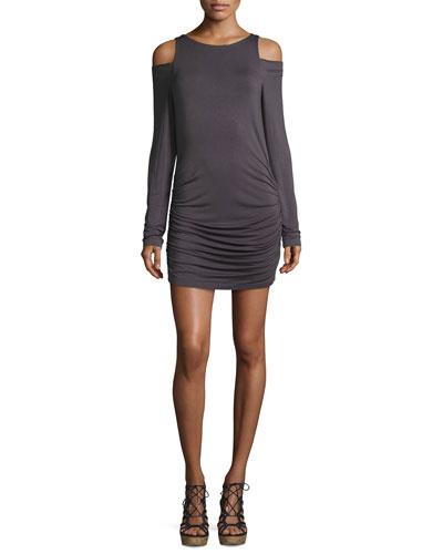 Kila Cold-Shoulder Jersey Dress