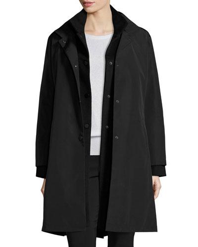 Multifunctional 2-in-1 Jacket, Black