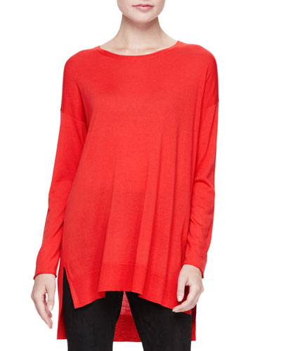 Long-Sleeve Luxe Merino Tunic