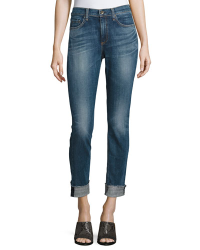 10 Inch Dre Cropped Jeans, Bainbridge